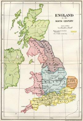 9th Century England